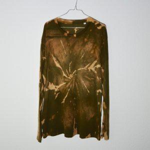 Batik / Tie-Dye Longsleeve Mudslinging- Handmade, Organic