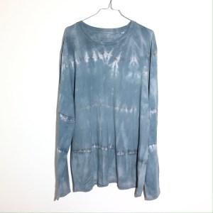 Batik / Tie-Dye Longsleeve Ice Block - Handmade, Organic