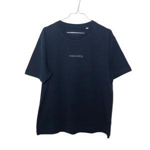 Organic Oversize Basic Shirt – blau