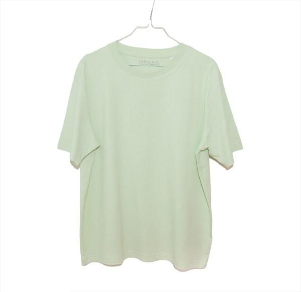 Organic Oversize Basic Shirt - Faded Lime