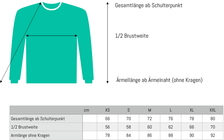 Maßangaben_Sweater_Single