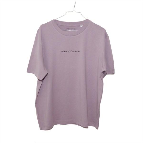 Single Shirt Antique Purple - Organic, Unisex, Oversize