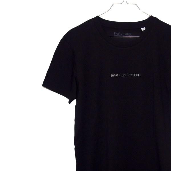 Single T-Shirt Kleid - Organic, Schwarz