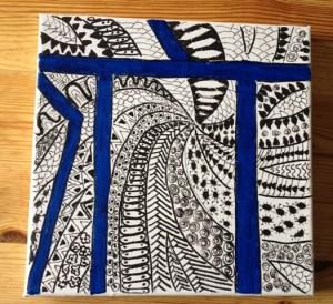 doodling i bilen