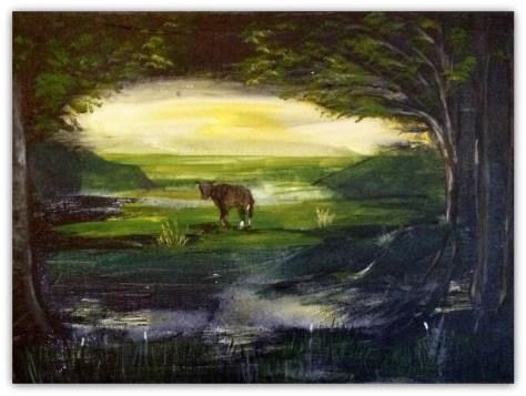 Kalven der blev væk fra sin mor :-)