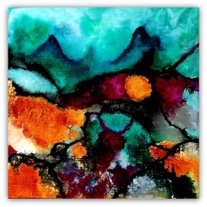 abstrakt orange 2   30 - 30