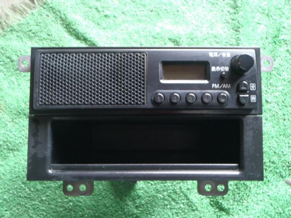 スズキ純正 FM/AM スピーカー付き ラジオ