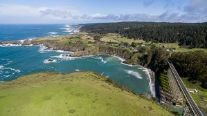 This beautiful oceanfront acreage is ideal for building a site as a private family compound. ThisCoastal region has incredible vistas along the rugged coastline.