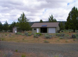 """The Pit River Retreat has 3 cabins and pavilion, is a unique well-established camping site for """"Glampers."""""""
