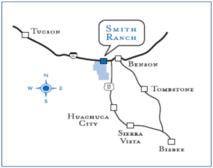 Smith Ranch is approximately 2,120 Acres in Northwest Cochise County, Arizona.