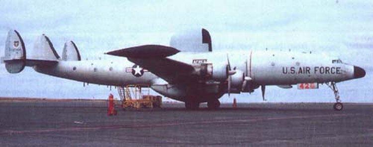 EC 121 Lockheed Warning Star Military Aircraft