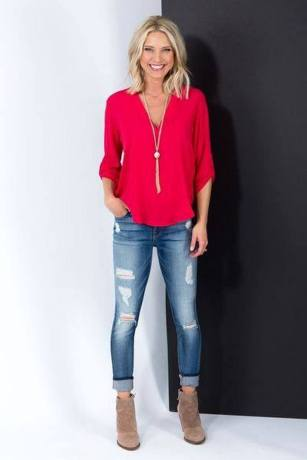 Best simple casual spring styles (26)
