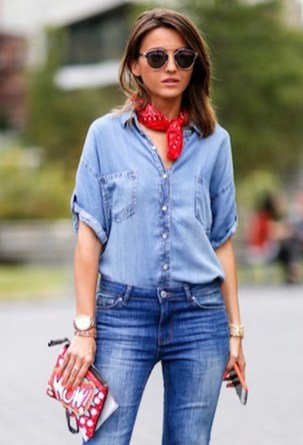 Coolest women denim trends idea (101)