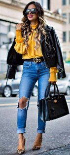 Coolest women denim trends idea (108)