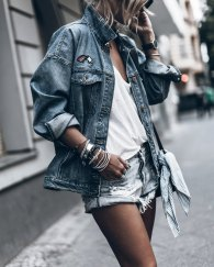 Coolest women denim trends idea (2)