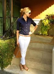 Coolest women denim trends idea (9)
