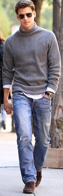 Inspiring wear shoes with jeans (11)