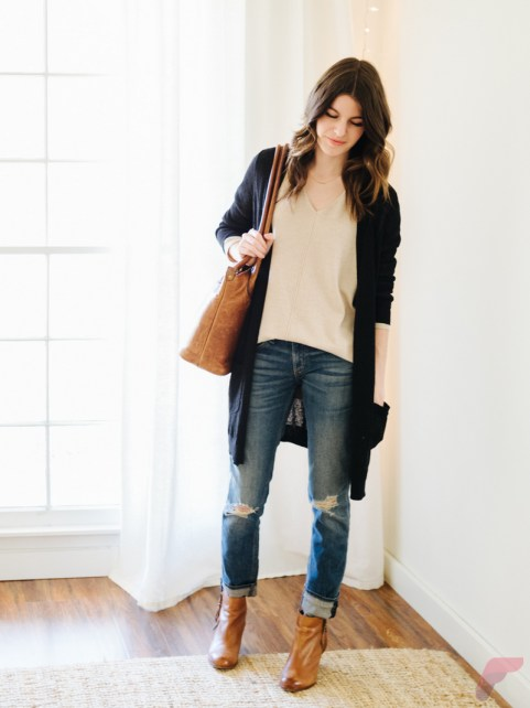 Women cardigan outfit (97)