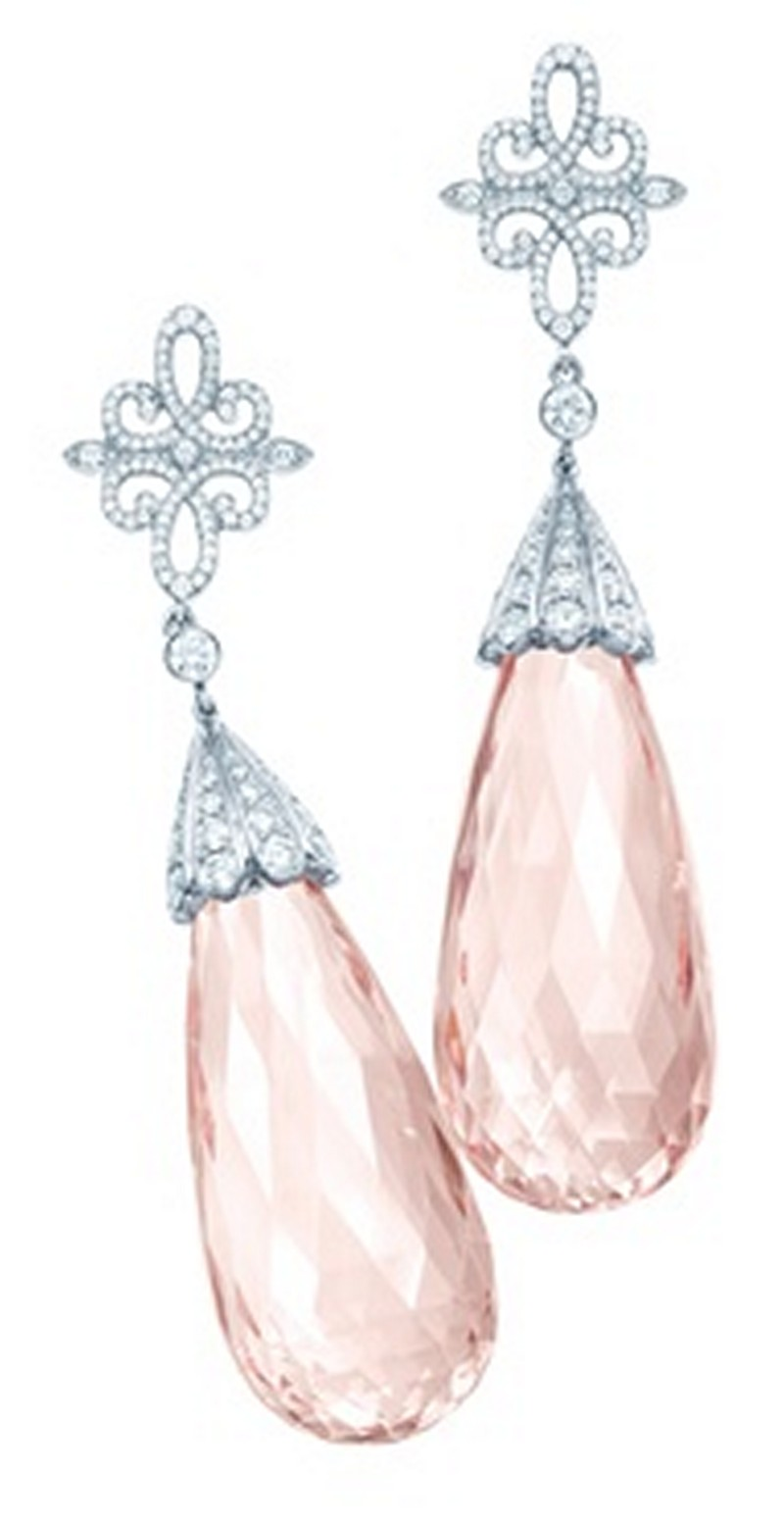 Earrings diamond wedding brides (149)