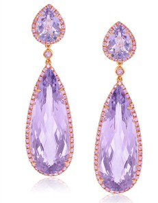Earrings diamond wedding brides (171)