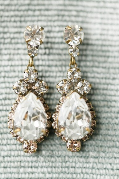 Earrings diamond wedding brides (33)