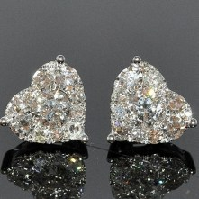 Earrings diamond wedding brides (70)