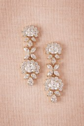Earrings diamond wedding brides (73)
