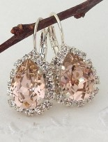 Earrings diamond wedding brides (78)