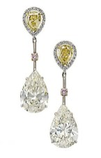 Earrings diamond wedding brides (96)