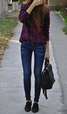 Ways to wear flanel for women (119)