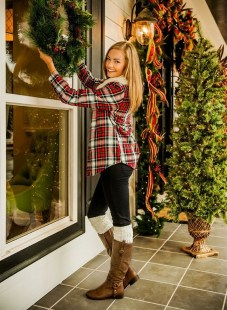 Ways to wear flanel for women (123)