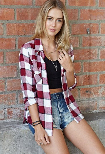 Ways to wear flanel for women (125)