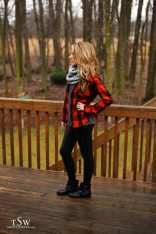 Ways to wear flanel for women (24)