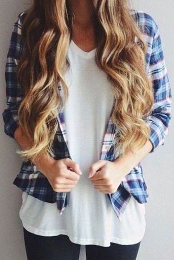 Ways to wear flanel for women (25)