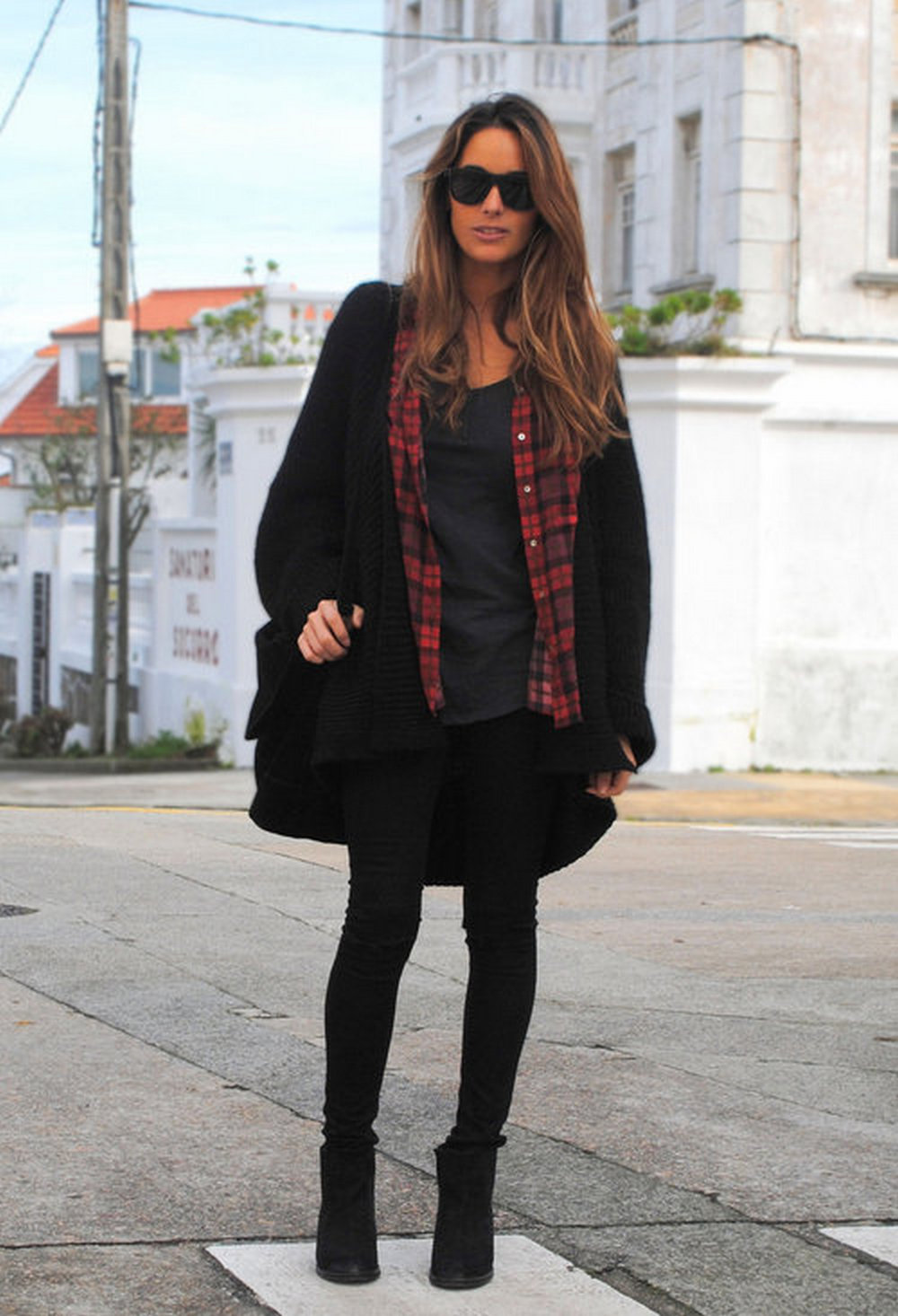 Ways to wear flanel for women (29)