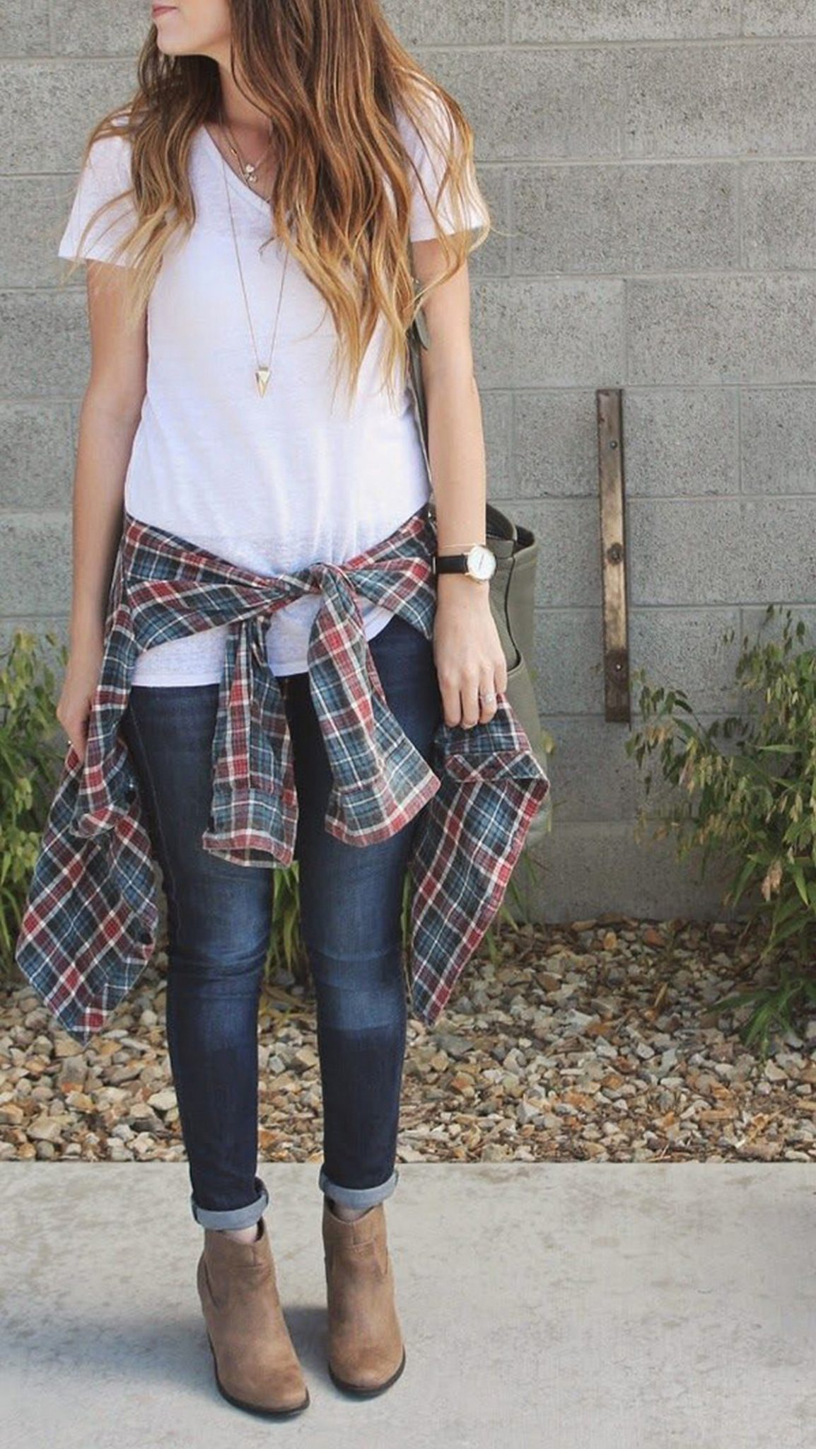 Ways to wear flanel for women (38)