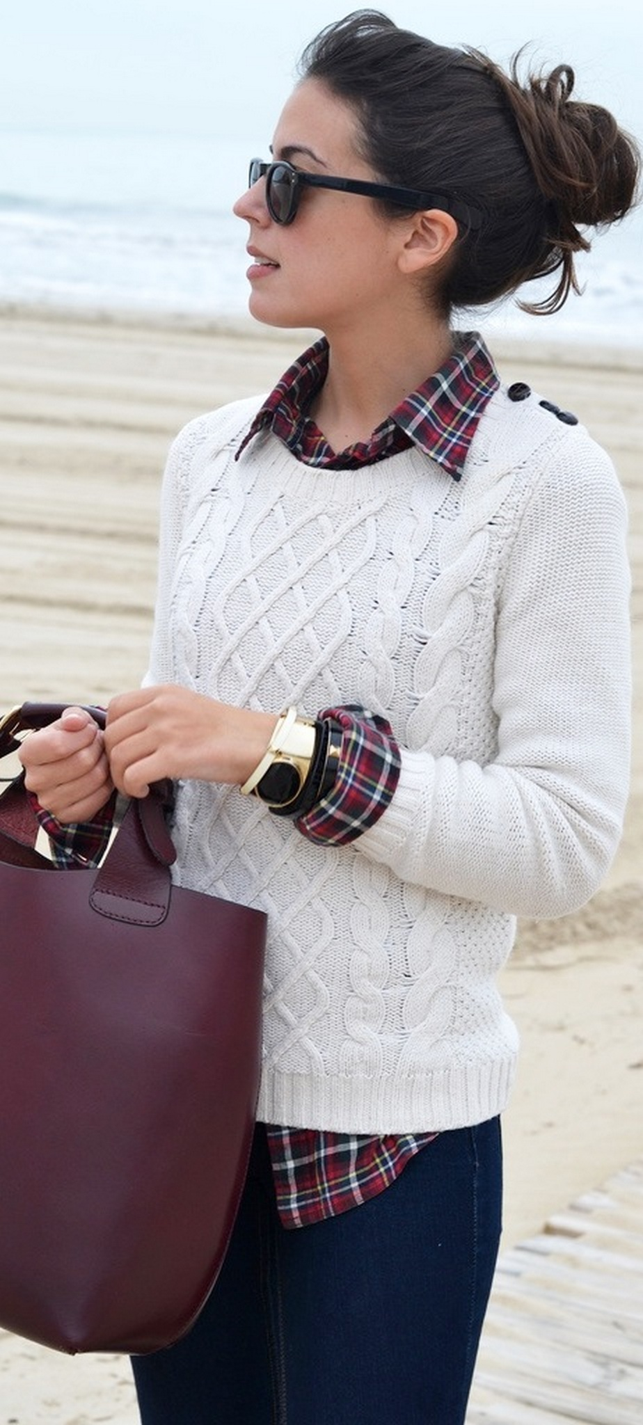 Ways to wear flanel for women (53)