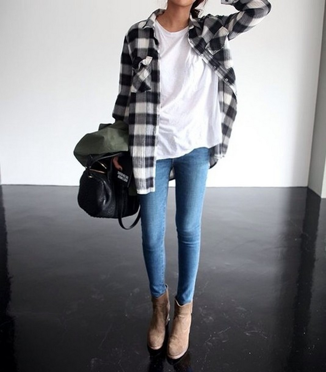 Ways to wear flanel for women (56)