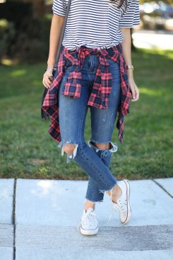 Ways to wear flanel for women (62)