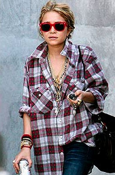 Ways to wear flanel for women (75)