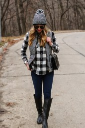 Ways to wear flanel for women (79)