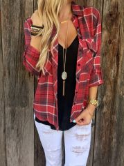 Ways to wear flanel for women (86)