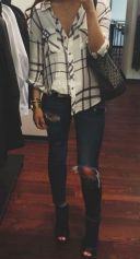 Ways to wear flanel for women (88)