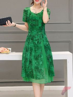 Awsome casual midi dress12