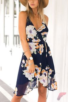 Awsome casual midi dress135