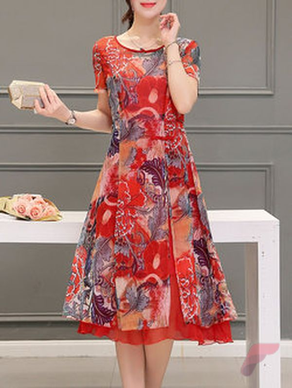 Awsome casual midi dress144