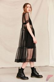Awsome casual midi dress165