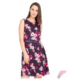Awsome casual midi dress167
