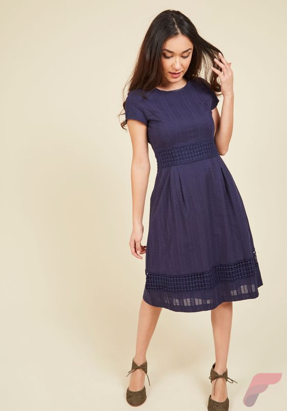 Awsome casual midi dress170