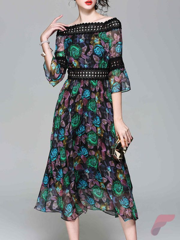 Awsome casual midi dress172
